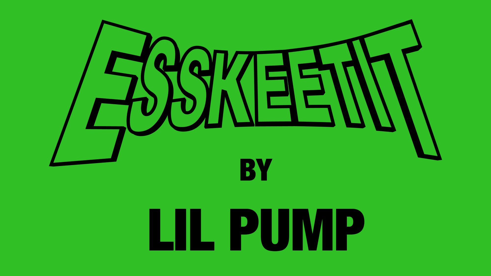 Esskeetit Clothing by Lil Pump